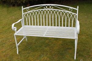 Versailles Style Folding Metal Garden Bench In Sage Green