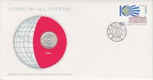 Numisbrief-Coins-Of-All-Nations-Japan