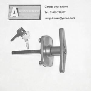 Image is loading Cardale-EARLY-Garage-door-spares-T-bar-lock-  sc 1 st  eBay & Cardale EARLY Garage door spares T bar lock handle   eBay