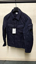 CP Company Garment Dyed Quilted Overshirt Jacket Navy BNWT