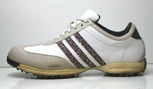 buscar el más nuevo encanto de costo servicio duradero adidas FitFoam Women's 11 N Golf Shoes Leather White Blue The 3 ...