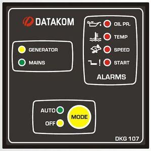 DATAKOM-DKG-107-Generator-Automatic-Mains-Failure-controller-panel-AMF
