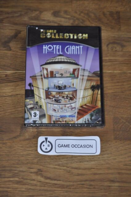 HOTEL GIANT- PC GOLD COLLECTION / PC DVD-ROM EN BOITE NEUF