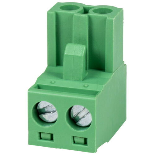 Parts Express Phoenix Type Connector 2-Pole 5mm Pitch 4-Pack