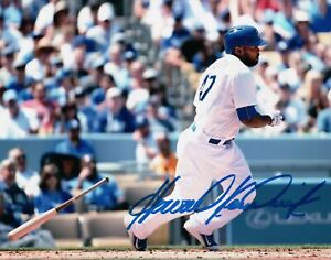 Howie-Kendrick-Signed-Autographed-8X10-Photo-Los-Angeles-Dodgers-Home-Swing-COA