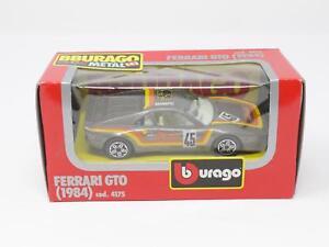 1-43-BBURAGO-BURAGO-DIE-CAST-METAL-MODEL-4175-FERRARI-GTO-1984-NIB-QL3-012