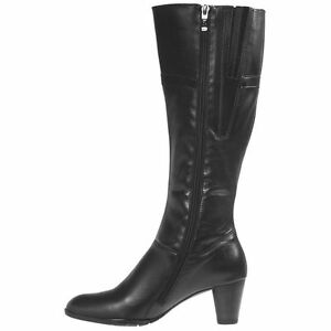 Details about $300 Ara Traci Womens Tall Leather Boots Full Zip Boots, US 10 M