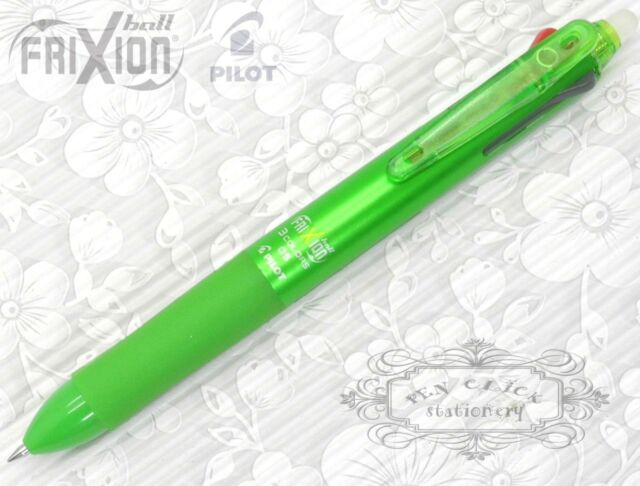 Pilot FriXion Ball 3 Multi-Color 3in1 Erasable pen GREEN barrel FREE GIFT