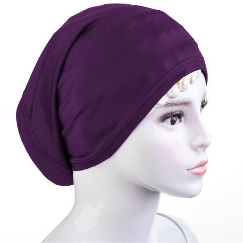 Femmes musulmanes Ninja Head Cover Bonnet Chapeau underscarf Hijab Inner Cap Scarf Warp