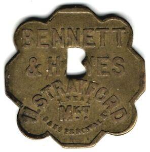 "Stratford Market ""Bennett & Hayes"" Ten Shilling 30mm Token"