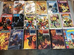 Lot-Of-18-Marvel-Comics-She-Hulk-Nightcat-Tales-Of-Suspense-Prestige-Never-Read