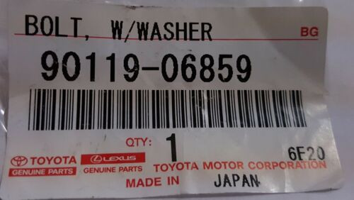 TOYOTA OEM Air Cleaner Intake-Box Housing Assy Bolt 9011906859