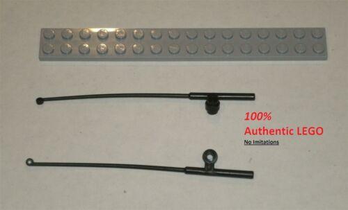 4656122 Brick 96858 2x LEGO NEW Black Minifig Tool Fishing Rod