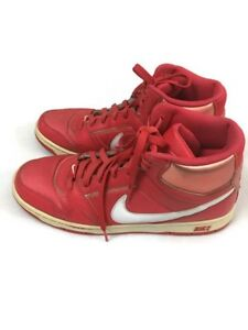 b860c00ce Nike Basketball Shoes Size 11 Fashion Sneakers Red Lace Up High Top ...
