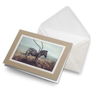 Greetings-Card-Biege-Africa-Zebra-Stripe-Surrealism-Art-14892