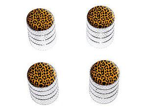 Leopard-Print-Tire-Rim-Wheel-Valve-Stem-Caps-Aluminum