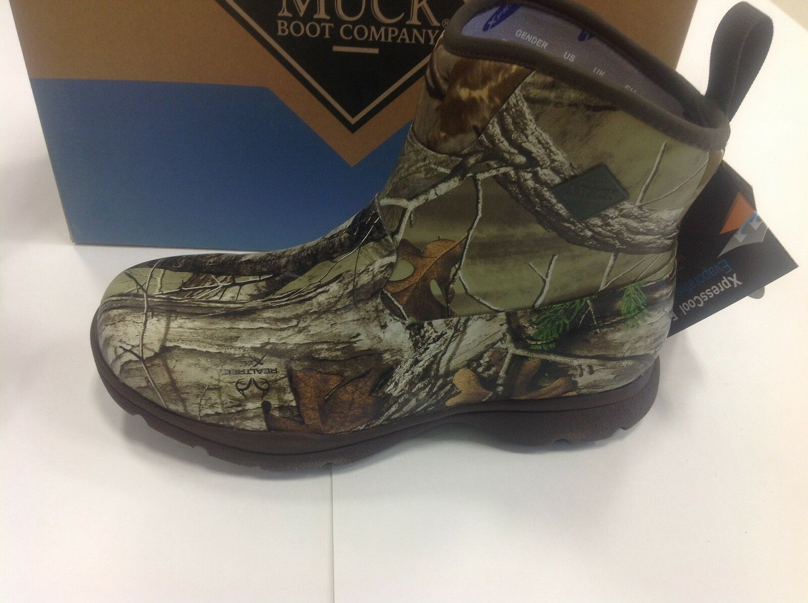 NEW Muck Excursion Pro Mid Boots Camo FRMC-RTX 6,7,8,9,10,11 Cool Waterproof Dry
