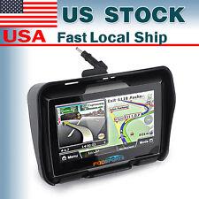 "New 4.3"" Touchscreen waterproof Bike Motorcycle GPS Navigation SAT NAV Bluetooth"