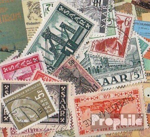 Saar 25 different stamps