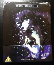 YOUNG FRANKENSTEIN Blu-Ray SteelBook Comic Con 2014 Gene Wilder 1/1000 B&W Rare!