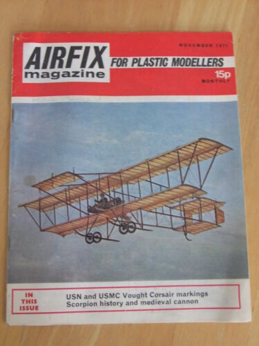 scale modelling subjects 1970 to 72 Airfix Magazine various issues available