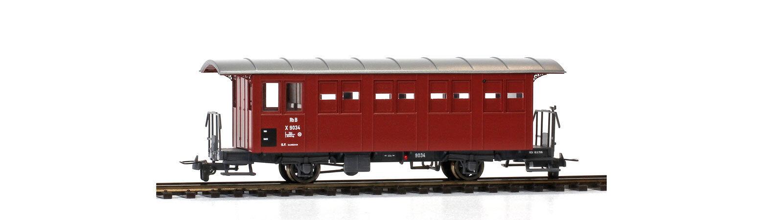 BEMO 3234 194/3234194 RHB x 9034 servizio ferroviario carrello S.F. Samedan traccia h0m NUOVO