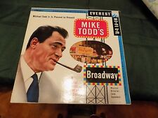 Mike Todd's Broadway (Soundtrack) LP High Fidelity (die-cut box-like cover)