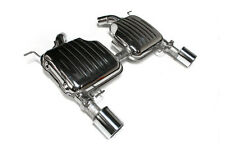 Eisenmann exhaust rear section for BMW E90 335i, 2 x 102mm tailpipes