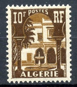 Timbre Algerie Neuf N° 313a ** Cour Mauresque Du Musee De Bardo Moderate Cost Stamps