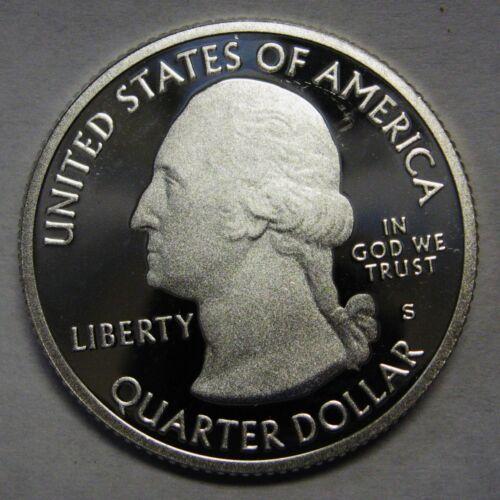 2011-S Olympic Washington Gem DCAM Silver Proof Parks Quarter Stunning Coin