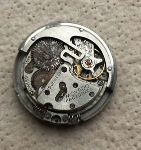 Movado-7544-Ne-Fonctionne-X-Parts-Vintage-Montre-Automatic-Movement