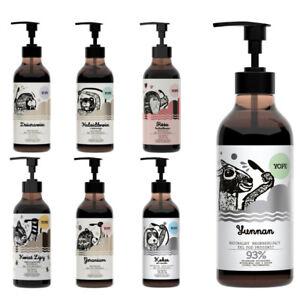 Natural-Shower-Gel-Yope-Rose-Linden-Coconut-400ml-Vegan-Friendly-Paraben-Free