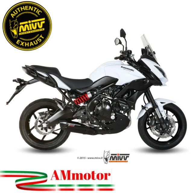 Escape Completo Moto Mivv Kawasaki Versys 650 2015 15 Silenciador Suono Black