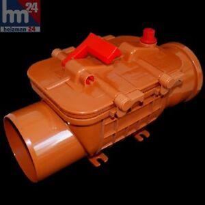 STAGNANTE-des-Clapet-anti-retour-a-base-de-plastique-ABS-DN110