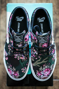 best loved 9f442 82d80 Image is loading NIKE-SB-STEFAN-JANOSKI-DIGI-FLORAL-UK-6-