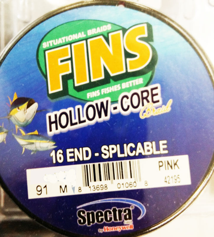 FINS HOLLOW CORE PINK 91MT 100LB