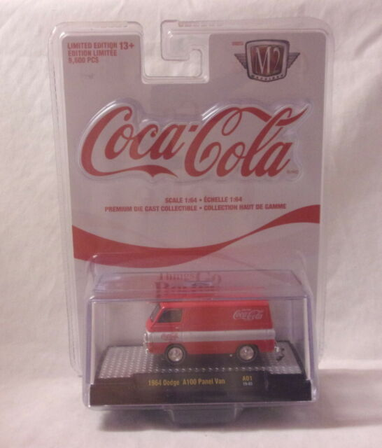 KKar M2/Castline - 2019 Coca-Cola - 1964 Dodge A100 Panel Van -  Red