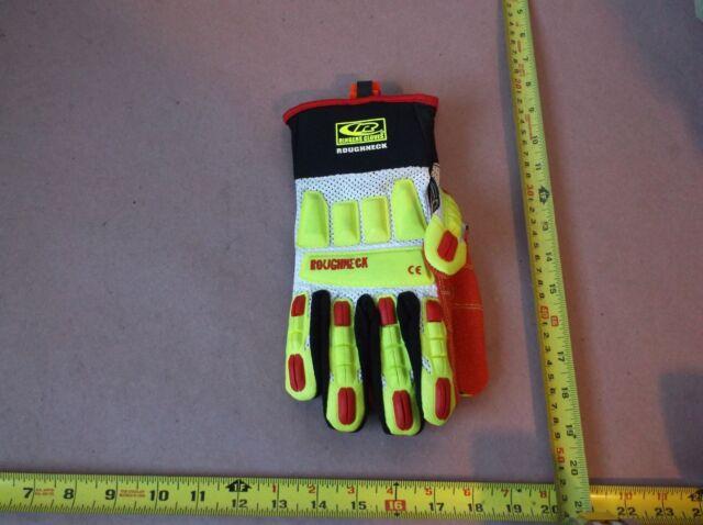 Ringers R-14 Mechanics Gloves 143-10 Cut Resistant Large Black