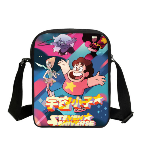 Steven Universe Shoulder Bag Kids Crossbody Bag Messenger Bag School Travel Sack