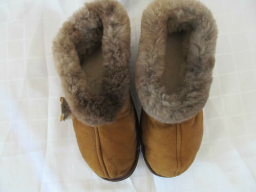 MEN/'S SLIPPER HANDMADE BOOTIES SHEEPSKIN  LEATHER BOOTS LINED WITH  WOOL