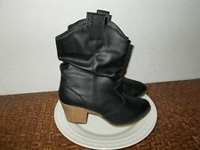 Black Cowboy Boots New with tags Womens (10)