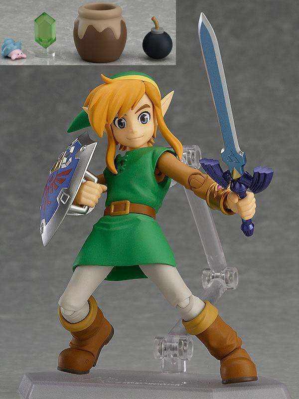 The Legend of Zelda A Link Between Worlds Figma Action Figure Link DX 11 cm GSC
