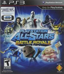 NEW PlayStation All-Stars Battle Royale (for PlayStation 3/PS3