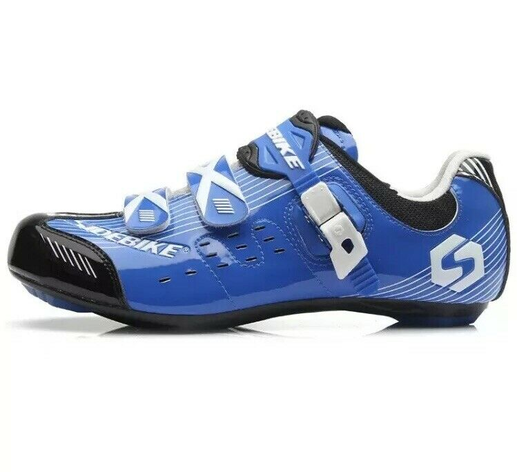 Sidebike SD-003 blueE Road Cycling shoes MENS Size 8 NWT