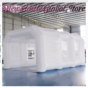 Pop Up Paint Booth >> Custom Made White Portable Giant Inflatable Spray Paint Painting