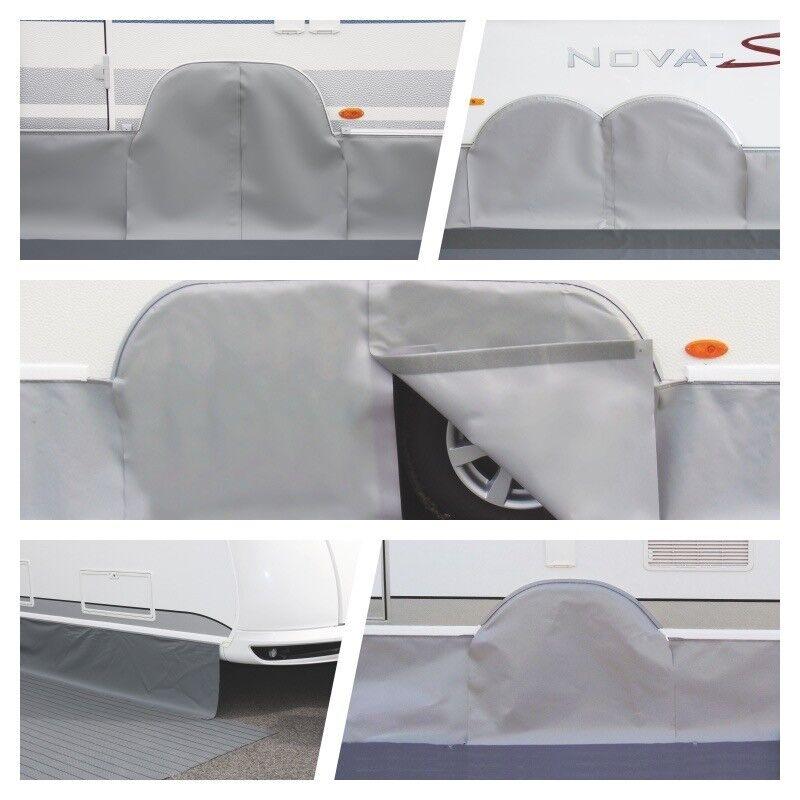 ERIBA COUVERCLE DE PASSAGE DE ROUE passformabdeckung Caravane 1-achs 1-achs 1-achs tandem 62abcb