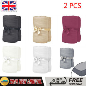 Cotton Jersey Duvet Cover Super King
