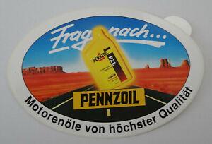 Motorsport-Aufkleber Pennzoil USA Oil Company Motor Oil Indy Route 80er