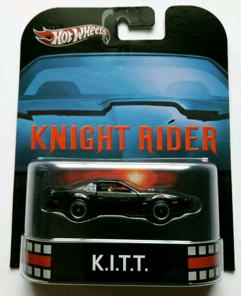 1 Hot Wheels EL COCHE FANTáSTICO FANTáSTICO FANTáSTICO - KNIGHT RIDER K.I.T.T. KITT RETRO Limit Edit 33ba3f