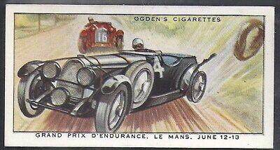 OGDENS-MOTOR RACES 1931-#48 QUALITY CARD!!!